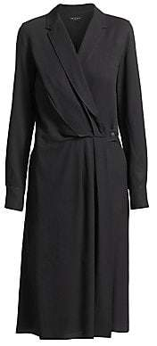 Rag & Bone Women's Dean Drape-Front Dress