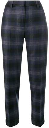 Peserico check trousers
