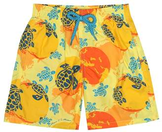 Vilebrequin Kids x Te Mana O Te Moana swim shorts