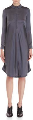 Transit Par Such Silk Long Sleeve Dress