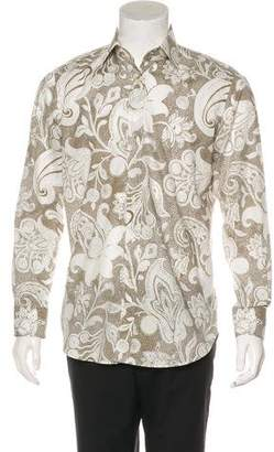 Etro Patterned Dress Shirt