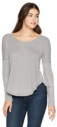 Lucky Brand Women's Scoop Neck Thermal
