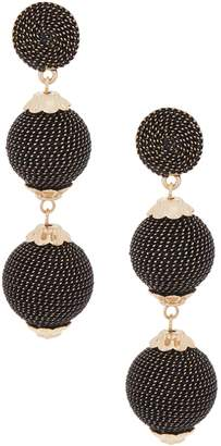 The Shailene - Graduated Sphere Drop Earrings