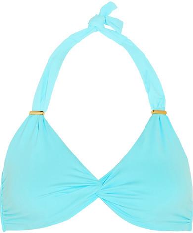Melissa Odabash - Africa Twist-front Bikini Top - Turquoise