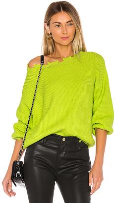 superdown Clara Off Shoulder Sweater