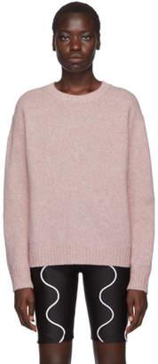 Acne Studios Pink Samara Crewneck Sweater