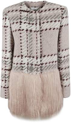 Blugirl Knitted Fur Cardigan