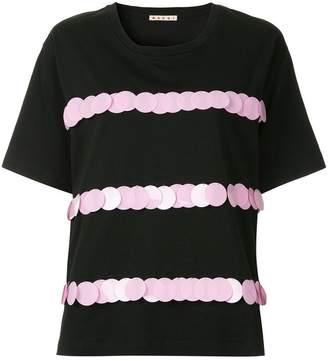 Marni embellished short-sleeve blouse
