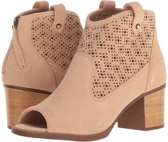 Chinese Laundry Trixie Peep Toe Bootie Women's Clog/Mule Shoes