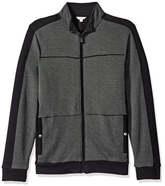 Calvin Klein Men's Full Zip Sweater