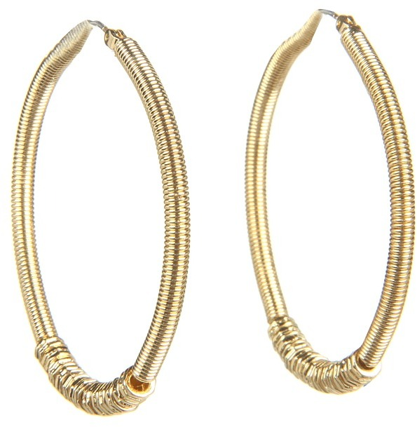 Jessica Simpson - Morroccan Shine Gold Hoop Earring