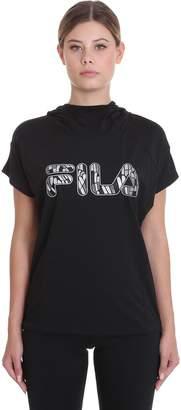 Fila Fay T-shirt In Black Nylon