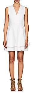 Derek Lam 10 Crosby Women's Denim Fit & Flare Dress - White