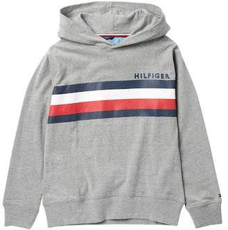 Tommy Hilfiger Signature Stripe Pullover Sweater (Big Boys)