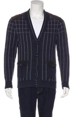 Paul & Joe Lambswool & Angora-Blend V-Neck Cardigan