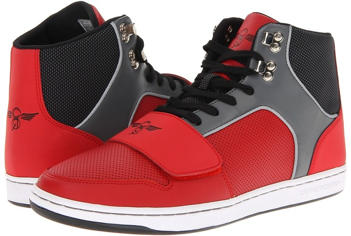 Creative Recreation Cesario (Red/Black/Smoke) - Footwear
