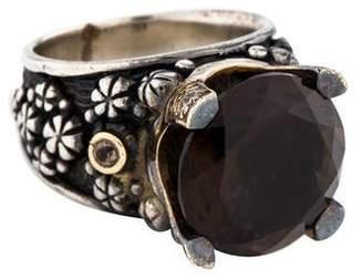 Konstantino Smoky Quartz Ring
