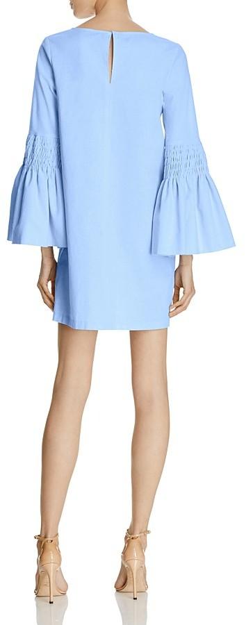 AQUA Smocked Bell Sleeve Shift Dress - 100% Exclusive 2