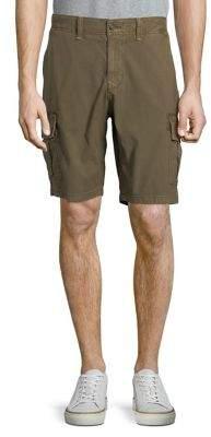 Lucky Brand Stretch Sateen Cargo Shorts