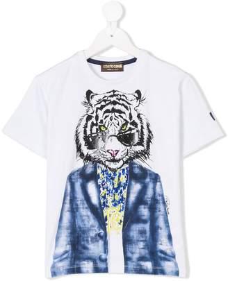 Roberto Cavalli tiger print T-shirt