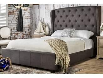 Hokku Designs Florenza Upholstered Platform Bed