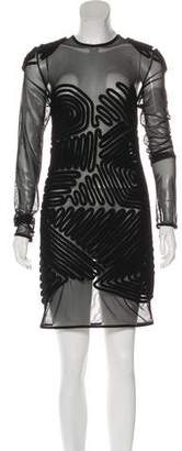 Alexander Wang Mesh Mini Dress w/ Tags