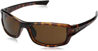 Under Armour Womens Edge 8600089-000100 Rectangular Sunglasses