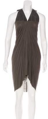 Rick Owens Lilies Sleeveless V-Neck Dress w/ Tags