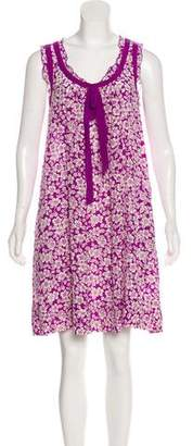 Sonia Rykiel Sonia by Silk Knee-Length Dress