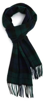 Barbour New Check Lambswool & Cashmere Scarf