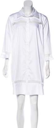 N. Nicholas Button-Up Casual Dress