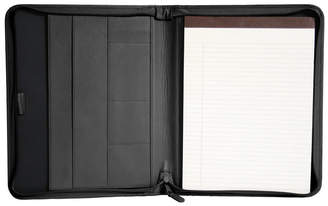 Royce Leather Royce Executive Convertible Zippered Writing Portfolio Organizer in Genuine Leather