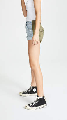 Alexander Wang Denim x Hike Shorts
