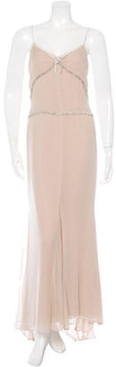 Vera Wang Silk Embellished Gown $160 thestylecure.com