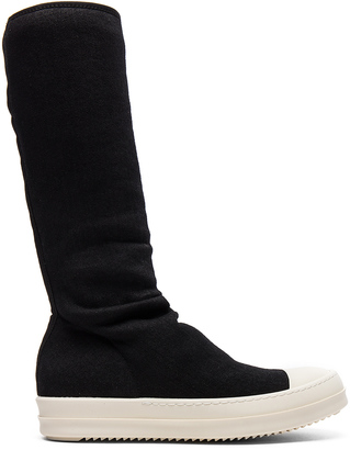 DRKSHDW by Rick Owens Sock Sneakers $722 thestylecure.com