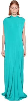 Balenciaga LONG STRETCH JERSEY DRESS