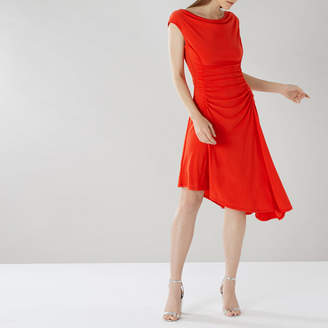 Coast Millie Ruched Jersey Dress