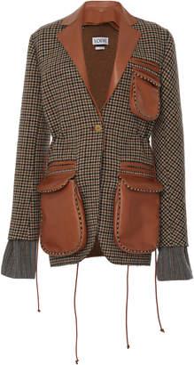 Loewe Leather Patch Pocket Jacket