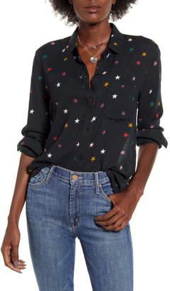 Rails Rosci Star Print Button Front Shirt