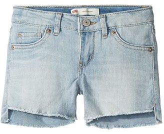 Levi's Kids Altered Denim Shorty Shorts (Big Kids)