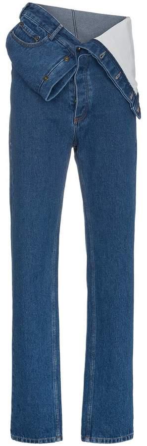 Y / Project Jeans mit lockerer Passform