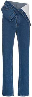 Y/Project Y / Project Baggy Waist Detail Jeans