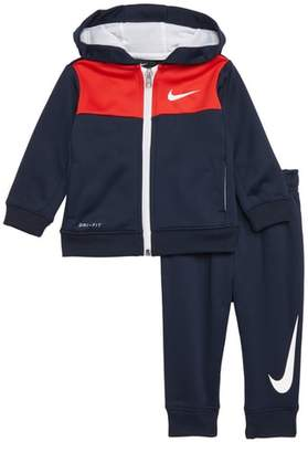 Nike Therma Full Zip Hoodie & Sweatpants Set