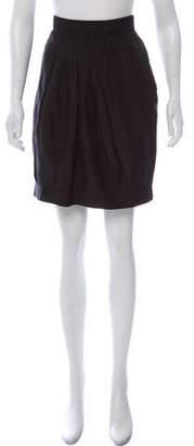 Brunello Cucinelli GUNEX x Silk Knee-Length Skirt