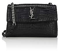 Saint Laurent Women's Monogram West Hollywood Shoulder Bag - Black