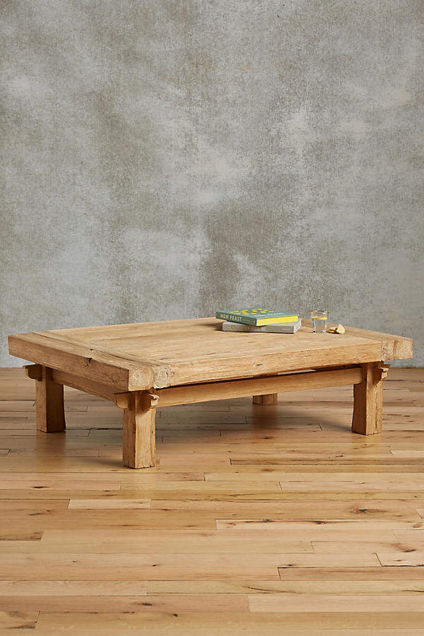 Anthropologie Anthropologie Wide Plank Coffee Table
