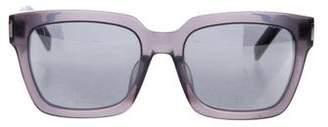 Saint Laurent Bold 1 Oversize Mirrored Sunglasses