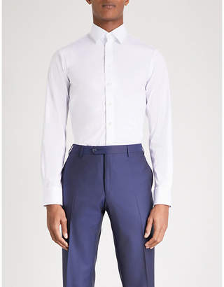 Smyth & Gibson Tailored-fit single-cuff shirt