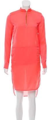 J Brand Long Sleeve Midi Dress