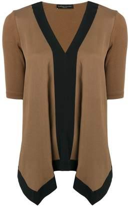Fabiana Filippi drape panelled blouse
